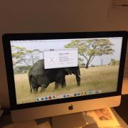 Tadelloser iMac 21,