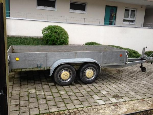 Fenster Bad Urach : Tandem Anhänger 2 Achser in Bad Urach  Anhänger, Auflieger kaufen