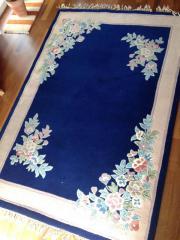 Teppich Blumenmotiv China