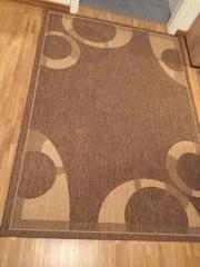 Teppich braun, modernes
