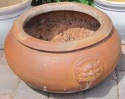 Terracotta Pflanzgefäß frostfest