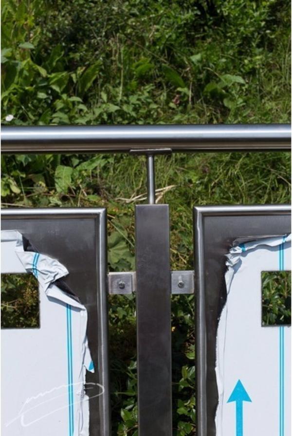 terrassen gel nder edelstahl in hirschbach sonstiges f r den garten balkon terrasse kaufen. Black Bedroom Furniture Sets. Home Design Ideas