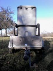 Thermowasserfass Pferde