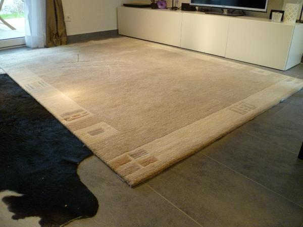 Tibet teppich cremefarben in b blingen teppiche kaufen for Teppich cremefarben