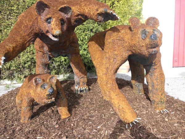 Tiere aus metall sonstiges f r den garten balkon terrasse for Tiere aus metall gartendeko