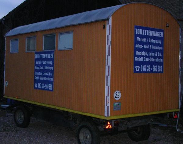 toilettenwagen bauwagen anh nger in bechtolsheim. Black Bedroom Furniture Sets. Home Design Ideas