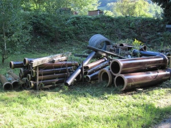 Tonrohr Steinzeug Kanalrohre Div Dn 125 500 In