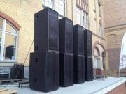 Tontechnik Beschallungsservice PA-