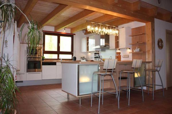 top designer k che der firma nolte in wei hochglanz mit neff elektroger ten. Black Bedroom Furniture Sets. Home Design Ideas