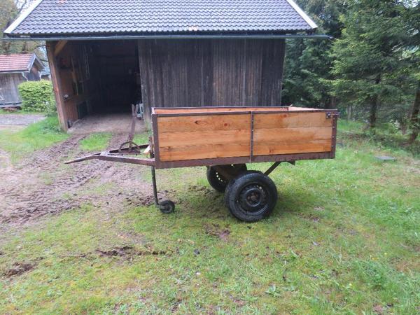 traktor einachsanh nger anh nger f r traktor. Black Bedroom Furniture Sets. Home Design Ideas