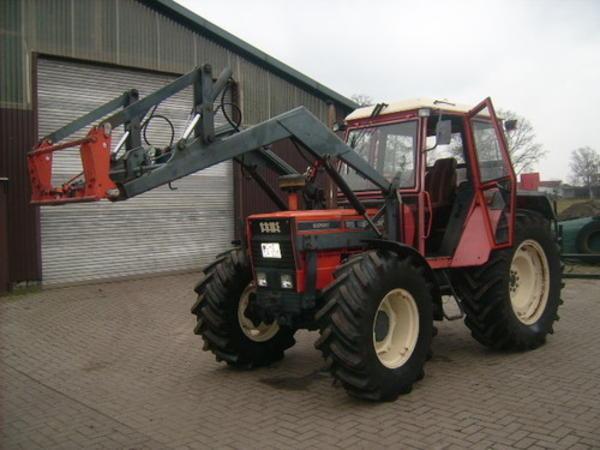 traktor same allrad frondlader euroaufnahme druckluft im. Black Bedroom Furniture Sets. Home Design Ideas