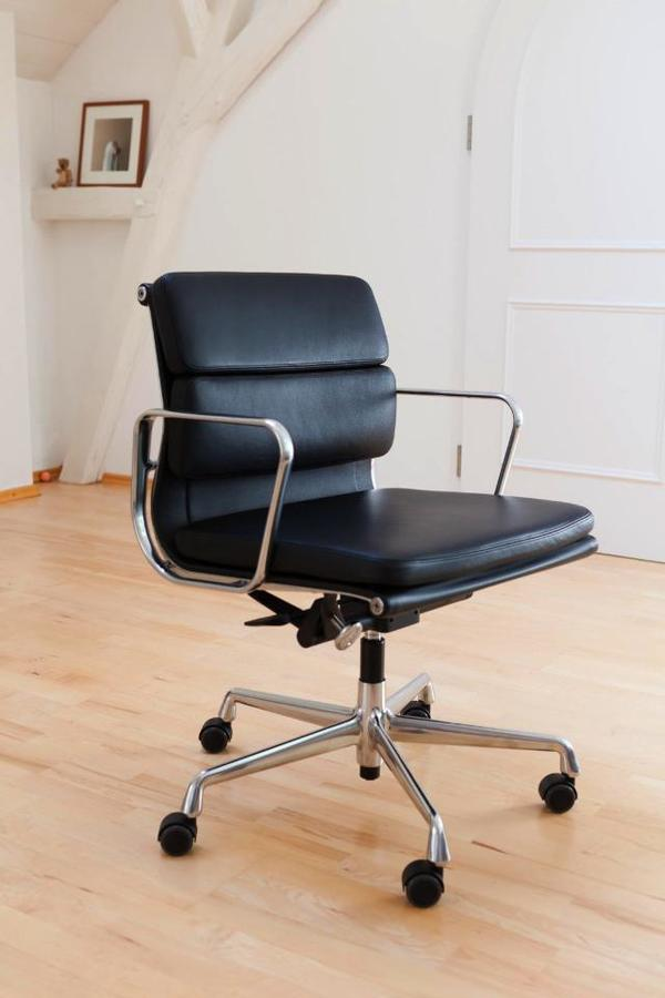 traumhaft sch ner original vitra eames soft pad b ro stuhl chair ea 217 in fichtenau b rom bel. Black Bedroom Furniture Sets. Home Design Ideas