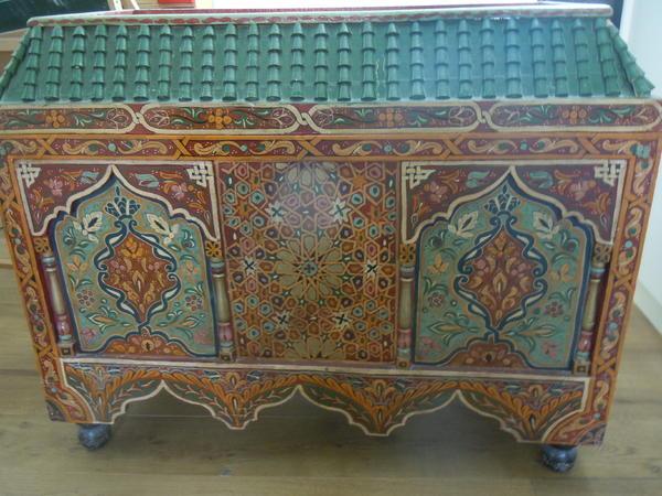 truhe aus marokko in kandel sonstige. Black Bedroom Furniture Sets. Home Design Ideas