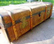 Überseekoffer alter Koffer