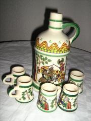 Ulmer Keramik, Karaffe,