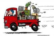 Umzugshelfer mit Transporter