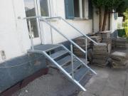 Verkaufe Außentreppe, Treppengeländer