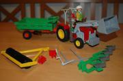 Verkaufe Playmobil Traktor