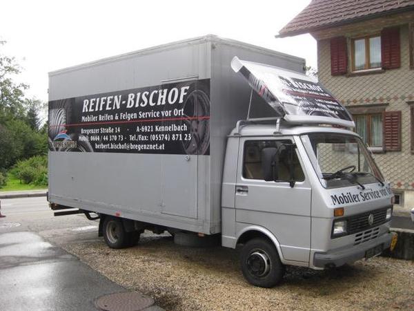 verkaufe vw lt35 mit alu koffer aufbau in kennelbach. Black Bedroom Furniture Sets. Home Design Ideas