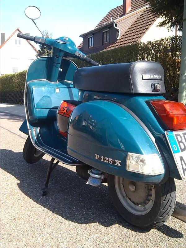 vespa px original baujahr 1979 oldtimer getunt mit stra enzulassung in gerlingen piaggio. Black Bedroom Furniture Sets. Home Design Ideas