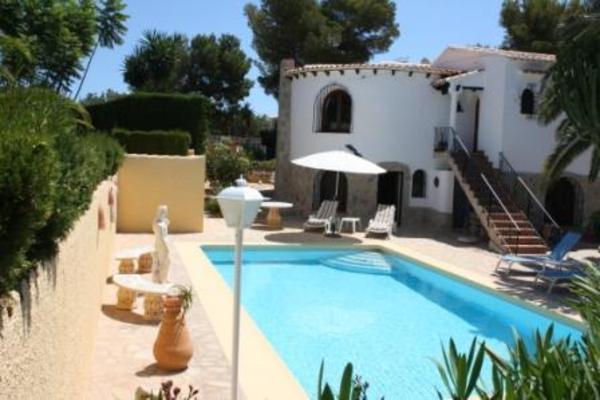 villa ferienhaus mit meerblick in spanien costa blanca zu vermieten in abenberg. Black Bedroom Furniture Sets. Home Design Ideas