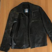 Vintage Lederjacke Speed