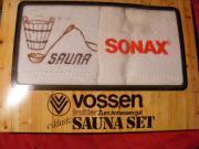 Vossen Sauna Set