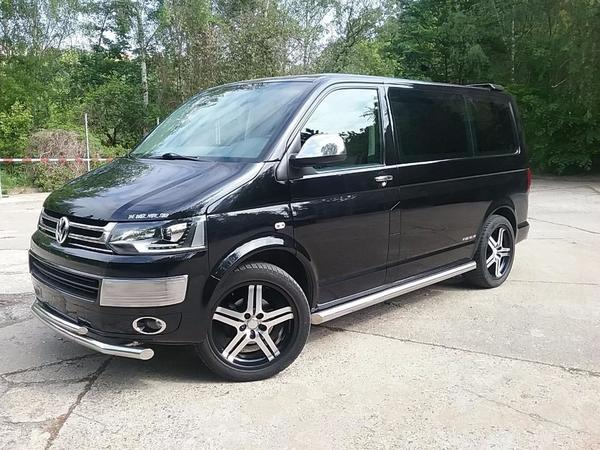 vw t5 multivan xenon leder dvd navi 20 zoll scheckheft schwarz in aalen vw bus. Black Bedroom Furniture Sets. Home Design Ideas