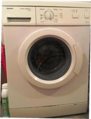 Waschmaschine Siemens weiss