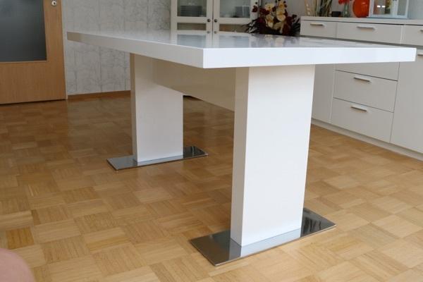 Esstisch Tisch Wei Hochglanz gebraucht kaufen, 26 Anzeigen vergleichen ...