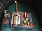 Wilesco-Dampfmaschine mit