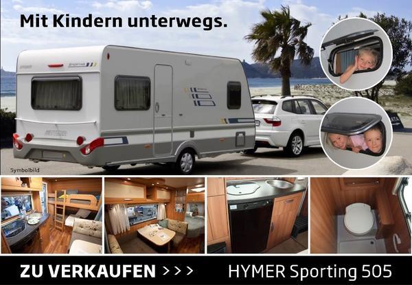 wohnwagen hymer sporting 505 in sulz kaufen und. Black Bedroom Furniture Sets. Home Design Ideas