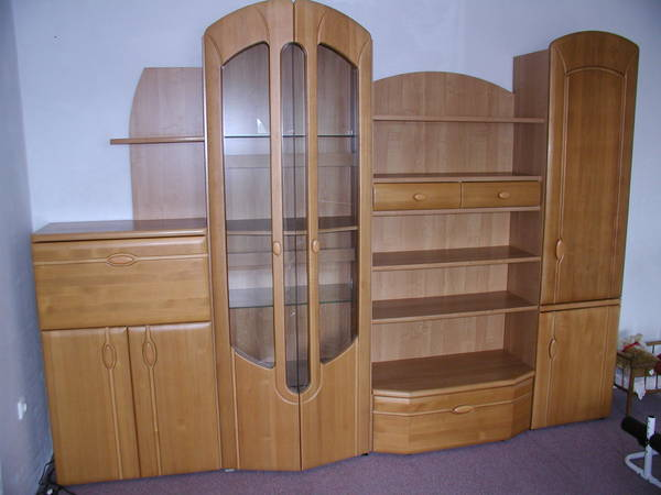 wohnwand malibu erle massiv in hochheim wohnzimmerschr nke anbauw nde kaufen und verkaufen. Black Bedroom Furniture Sets. Home Design Ideas