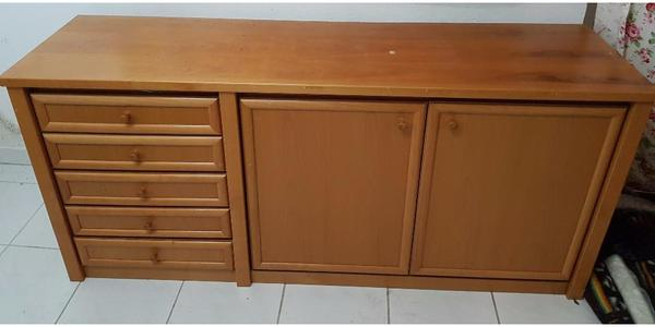 wohnzimmer sideboard gebraucht kaufen nur 3 st bis 60 g nstiger. Black Bedroom Furniture Sets. Home Design Ideas