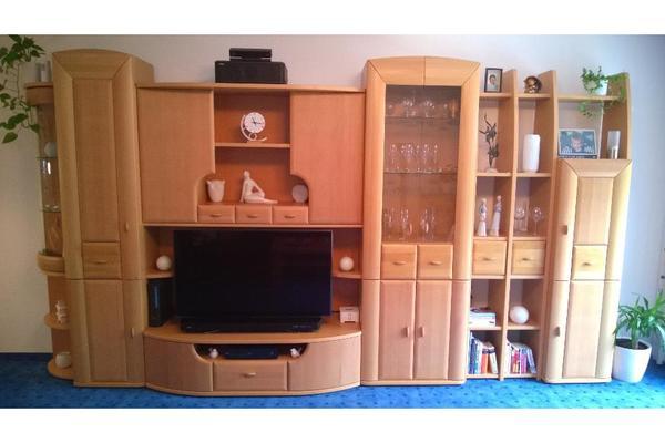 wohnzimmer schrankwand neu und gebraucht kaufen bei. Black Bedroom Furniture Sets. Home Design Ideas