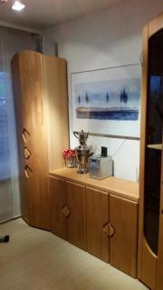 Wohnzimmerschrank mit Vitrene