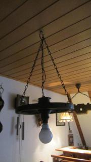 wagenrad lampe haushalt m bel gebraucht und neu kaufen. Black Bedroom Furniture Sets. Home Design Ideas