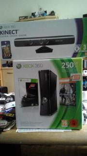 Xbox 360 - Konsole Slim 250 GB inkl. Kinect Sensor + Kinect Adventures, schwarz, neu, ovp, verpackt! gebraucht kaufen  Nürnberg Steinbühl