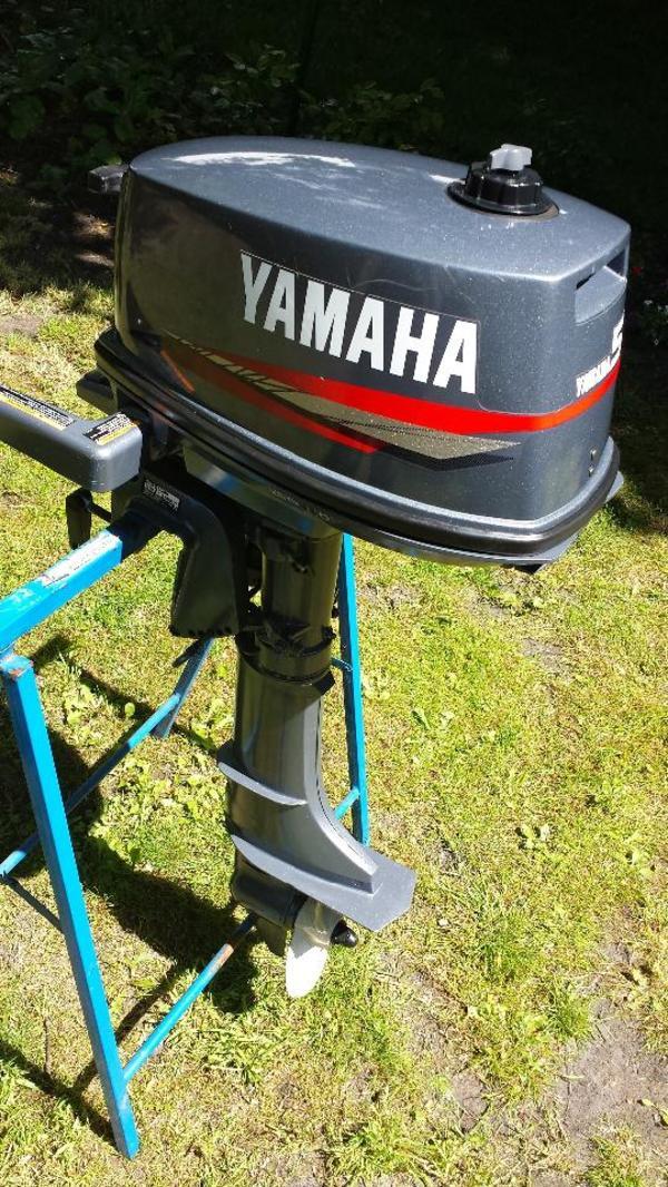 yamaha 2 takt 5 ps au enborder 5c mh normalschaft top zustand in hamburg bootsmotoren. Black Bedroom Furniture Sets. Home Design Ideas