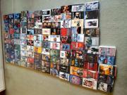 115 Videokassetten, Filme,