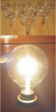 15 x Deko Glühbirne Radium