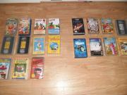 19 VHS Kinder-Videofilme Zeichentrick Kinder