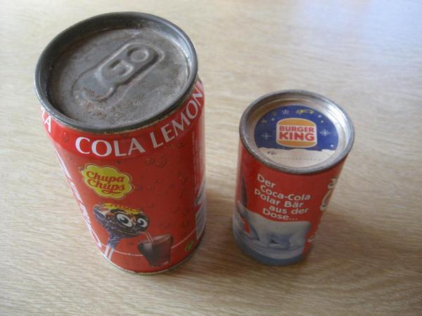 2 Coca Cola - Dosen uralte