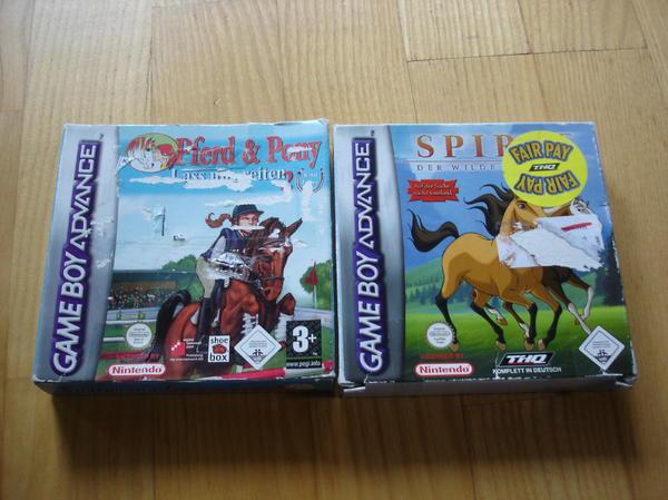 -2- Gameboy Advance Pferdespiele Buch
