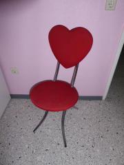 2 Herz - Metallstühle
