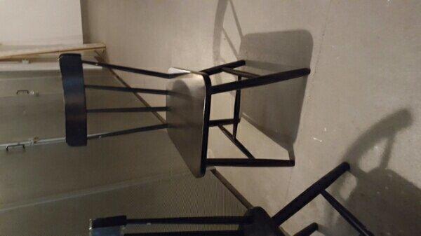 stuhl schwarz gebraucht kaufen nur 2 st bis 65 g nstiger. Black Bedroom Furniture Sets. Home Design Ideas