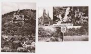 2 unbeschriebene Postkarten