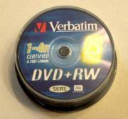 25 Stück DVD RW Medien
