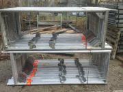 263 m² gebrauchtes Gerüst Layher