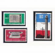 3 DDR-Briefmarken aus dem Jahr